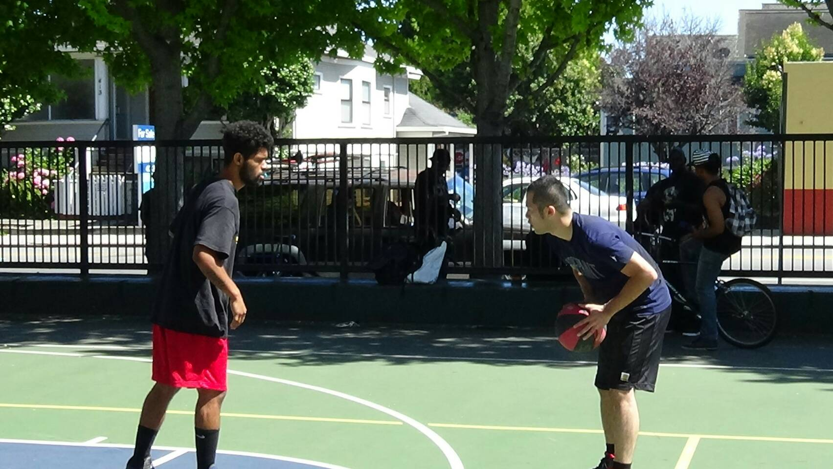 バスケット アメリカ 1on1