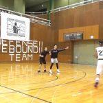 【大学バスケ】エース盛實選手のステップバックを守ってみました。
